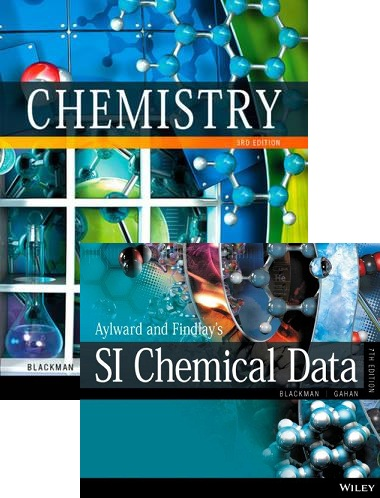 Chemistry 3e+Wileyplus Standalone to Accompany Chemistry 3e+Aylward and Findlay's Si Chemical Data 7e