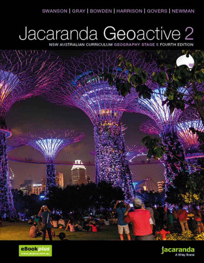 Jacaranda Geoactive 2 NSW Curriculum Geography Stage 5 4E learnON & Print