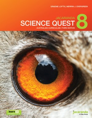 Jacaranda Science Quest 8 3e Australian curriculum learnON & print
