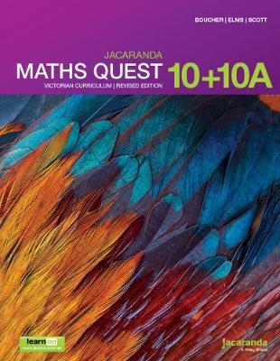 Jacaranda Maths Quest 10+10a Victorian Curriculum 1E (Revised) LearnON & Print