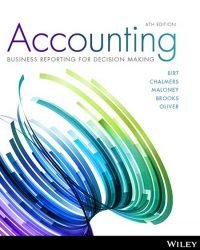 Accounting: Business Reporting for Decision Making, 6e Print on Demand (Black & White)