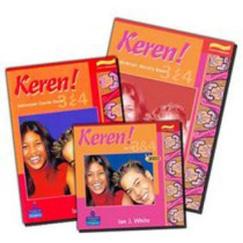 Keren! 3 & 4 Student Book and CD Pack