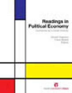Readings in Political Economy: Economics as a Social Science