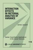Interaction Effects in Factorial Analysis of Variance