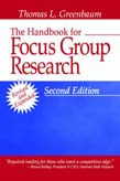Handbook for Focus Group Research 2ed