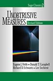 Unobtrusive Measures 2ed