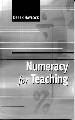 Numeracy for Teaching