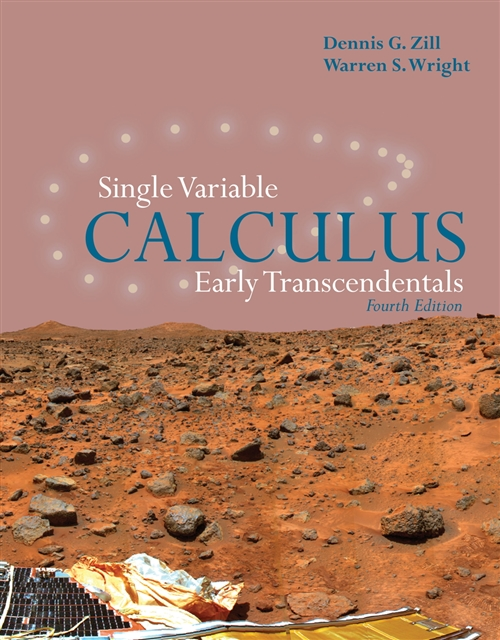 Single Variable Calculus: Early Transcendentals, Fourth Edition