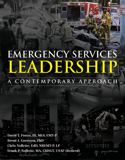 Emergency Services Leadership A Contemporary Approach