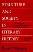 Structure and Society in Literary History: Studies in the History and Theory of Literary Criticism (POD)