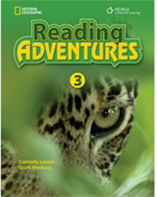 Reading Adventures 3 CD / DVD