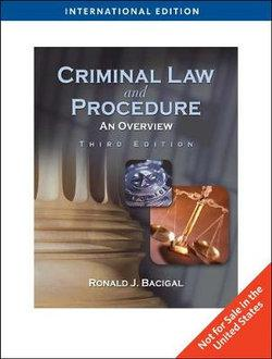 Criminal Law and Procedure : An Overview, International Edition