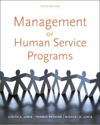Management of Human Service Programs