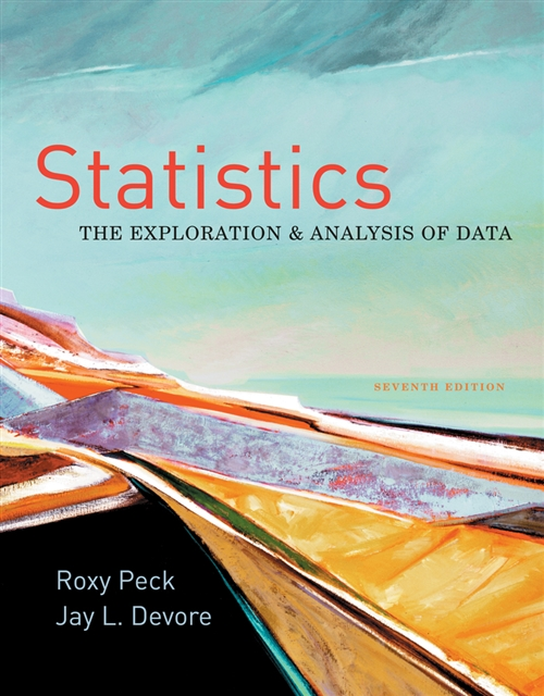 Statistics : The Exploration & Analysis of Data