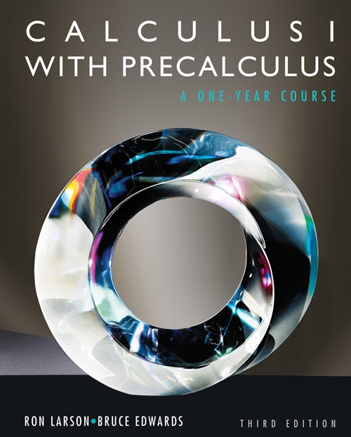 Student Solutions Manual: Calculus I with Precalculus, 3rd