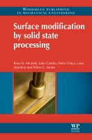 Surface Modification by Solid State Processing 1E