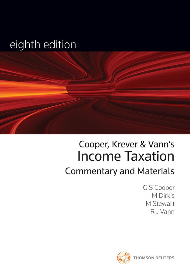 Income Taxation: Comm&Materials 8e