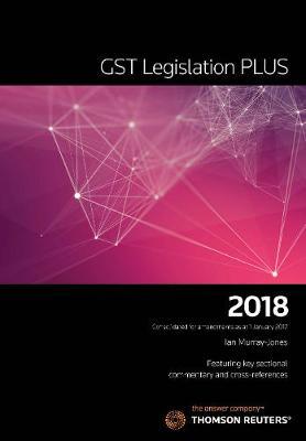 GST Legislation PLUS 2018