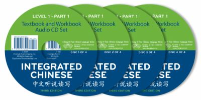Integrated Chinese Level 1 Part 1 - 4 Audio CD