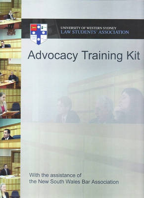 UWS Advocacy Training Kit Revised