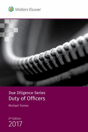 Due Diligence - Duty of Officers