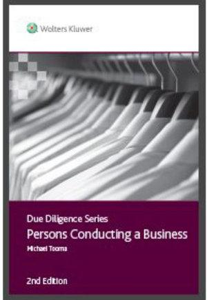 Due Diligence - Persons Conducting a Business
