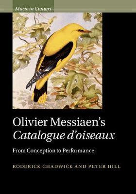 Olivier Messiaen Catalog d'oiseaux