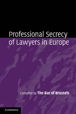 Professional Secrecy Lawyers Europe