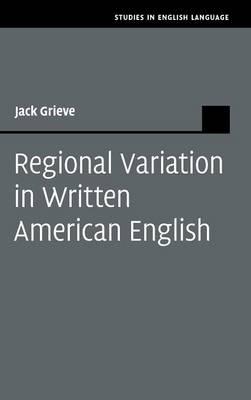 Regional Variation in Written American English