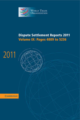 Dispute Settlement Reports 2011 v9