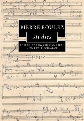 Pierre Boulez Studies