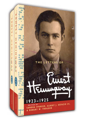 The Letters of Ernest Hemingway Hardback Set Volumes 2 and 3