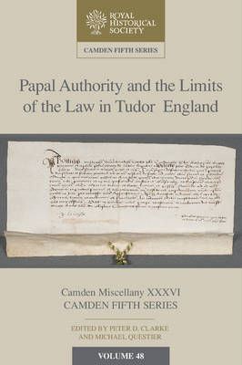 Papal Authority and the Limits of the Law in Tudor England