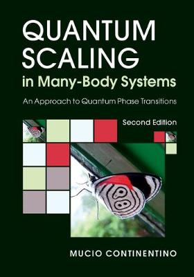 Quantum Scaling in Many-Body Systems: An Approach to Quantum Phase Transitions