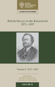 British Envoys to the Kaiserreich, 1871-1897