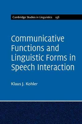 Com Func Ling Forms Speech Intractn