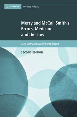 Merry and McCall Smith's Errors, Medicine and the Law