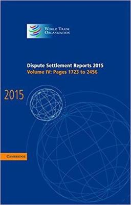 Dispute Settlement Reports 2015: Volume 4, Pages 1723-2456
