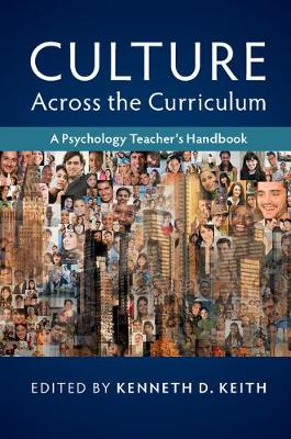 Culture across the Curriculum: A Psychology Teacher's Handbook
