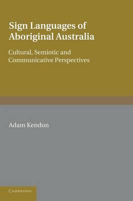 Sign Languages Aboriginal Australia