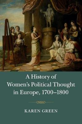 Hist Womens Polit Thght Eur 1700-18