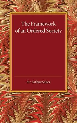 The Framework of an Ordered Society
