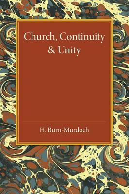 Church, Continuity and Unity