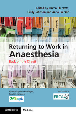 Returning to Work in Anaesthesia