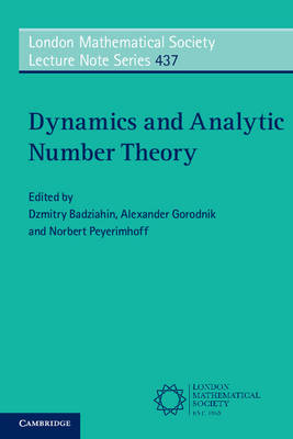 Dynamics and Analytic Number Theory