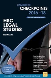 Cambridge Checkpoints HSC Legal Studies 2016-18