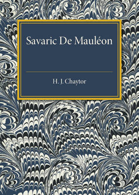 Savaric De Mauleon: Baron and Troubadour