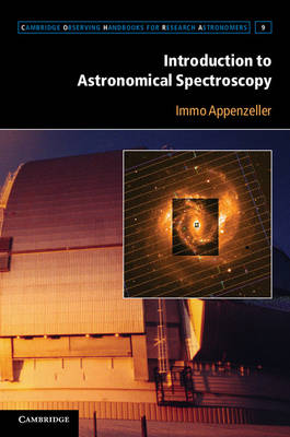 Intro Astronomical Spectroscopy