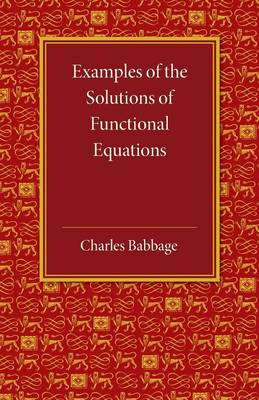 Example Solution Functionl Equation