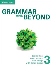 Grammar and Beyond Level 3 Student's Book and Class Audio CD Pack